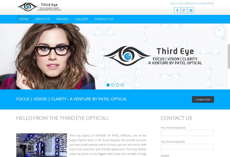 Third eye – A Venture by Patel Optical